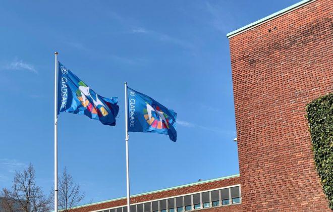 Rådhusplads flag UB 2